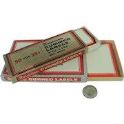Dennison Gummed Labels Vintage Office Supply