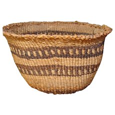 Basket Native American Mono Klamath Mush Bowl North West Coast