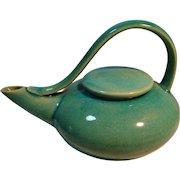 Mid Century Appeal Streamlined Pottery Tea Pot