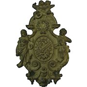 French Gilt Bronze  Furniture Mount Ornament Embellishment