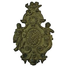 French Gilt Bronze  Furniture Mount Ornament Embellishment