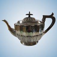 Walker & Hall Silver Tea Pot English 19th Century