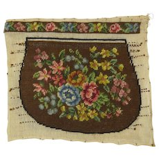 Petite Needlepoint Purse For The Making