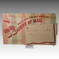 1942 Kamp Kards Post Cards For Soldiers Original Unused