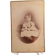 Cabinet Image Pretty Toddler Wide Eyed