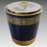 Plankenhammer Floss Bavaria Cobalt Porcelain Jar