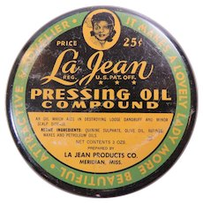 La Jean Pressing Oil Compound Hair Cream Black Image