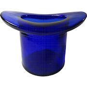 Cobalt Blue Top Hat Toothpick Whimsy