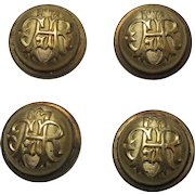 GAR Uniform Button Covers Set Of 4