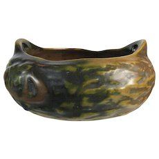 Roseville Imperial I Rustic Flower Bowl