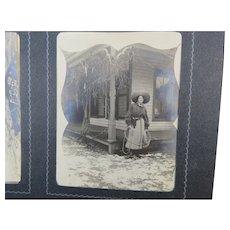 1890's Snapshots Family Photo Album Everyday Life
