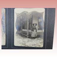 Photo Album Snapshots Family 1890s
