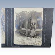 Photo Album Snapshots Family 1890s