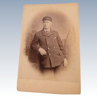 Cabinet Card British Uniformed Man
