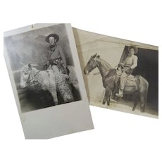 Two Wild And Wooly Cowboy Dudes Photographs