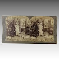 Stereoview Stereo Card Photograph Underwood Presentation First Born