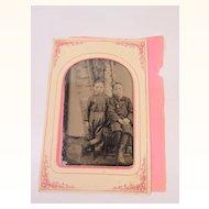 1/2 Plate Unusual Image Tintype