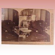 Stereoview President McKinley White House 1898