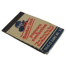 Cracker Jack Prize Toy Paper Game No 12 Magic Slate