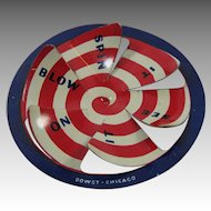 Cracker Jack 1930s Blow On It Spinner Prize or Toy