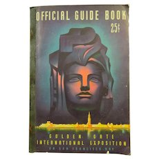 Official Guide Book Golden Gate Exposition With Map