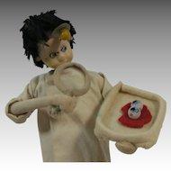Klumpe Roldan Doll Eye Doctor Examining Eyeballs
