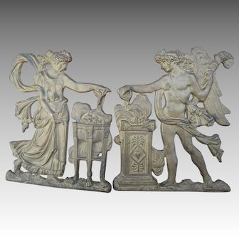 French Directorie Neo-Classical Bronze Embellishments