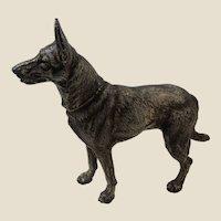 Hubley Doorstop Huge German Shepherd Dog No380 Cast Iron