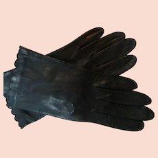 Miss Aris Kid Gloves Size 6 1/2 Shortie Never Worn