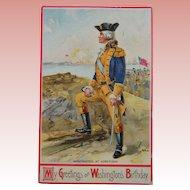George Washingtons Birthday Post Card 1910
