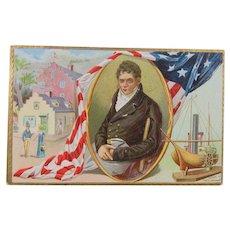 1909 Tuck's Post Card Robert Fulton Celebration
