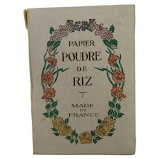 Vintage Papier Poudre De Riz Made In France To Soothe Your Beautiful Skin