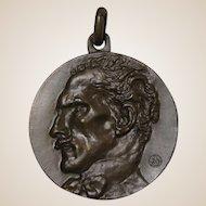 Arturo Toscanini Bronze Medallion Parma 1867-1967