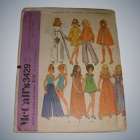 Vintage Doll Patterns for Barbie & Other Fashion Dolls