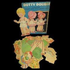 "Vintage Paper Doll Set ""Dotty Double"""