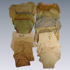 Vintage Baby Doll Rubber Pants & Diapers Lo of 16 Pieces!