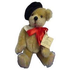 "UFDC Teddy Bear ""Francois"" by Artist Kathi Clarke"