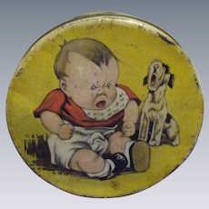 Vintage Baby Doll Tin by Charles Twelvetrees