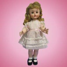"Vintage Madame Alexander ""Kelly"" Doll Tagged All Original 1958"