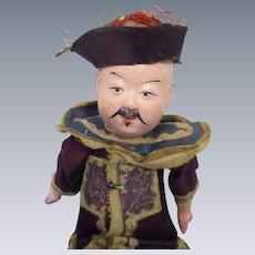 Vintage Ethnic Chinese Man in Original Costume