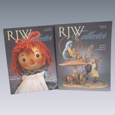 R J Wright Collector Magazines Lot of 2