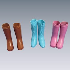3 Pairs of Ideal Crissy Family Boots