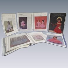 """Mary Hoyer"" Collection of Patterns for Mary Hoyer Dolls"