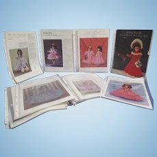 """""""Mary Hoyer"""" Collection of Patterns for Mary Hoyer Dolls"""