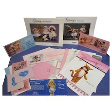 """Vogue Ginny"" Collection of Memorabilia from the Ginny Doll Club from the 1980s"