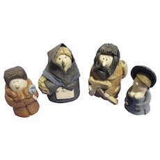 Artist Miniature Doll Character Family