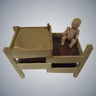 Vintage German Miniature Baby Dressing Table