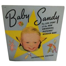 Vintage 1939 Original Baby Sandy Book
