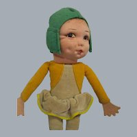 Vintage Norah Wellings Little Pixie People Doll