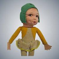 Vintage Norah Wellings Little Pixie People Doll